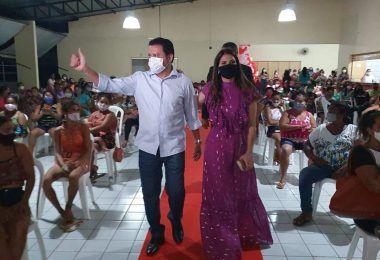 Primeira-dama Abigail Cunha realiza evento em comemoração ao dia das Mães em Barra do Corda