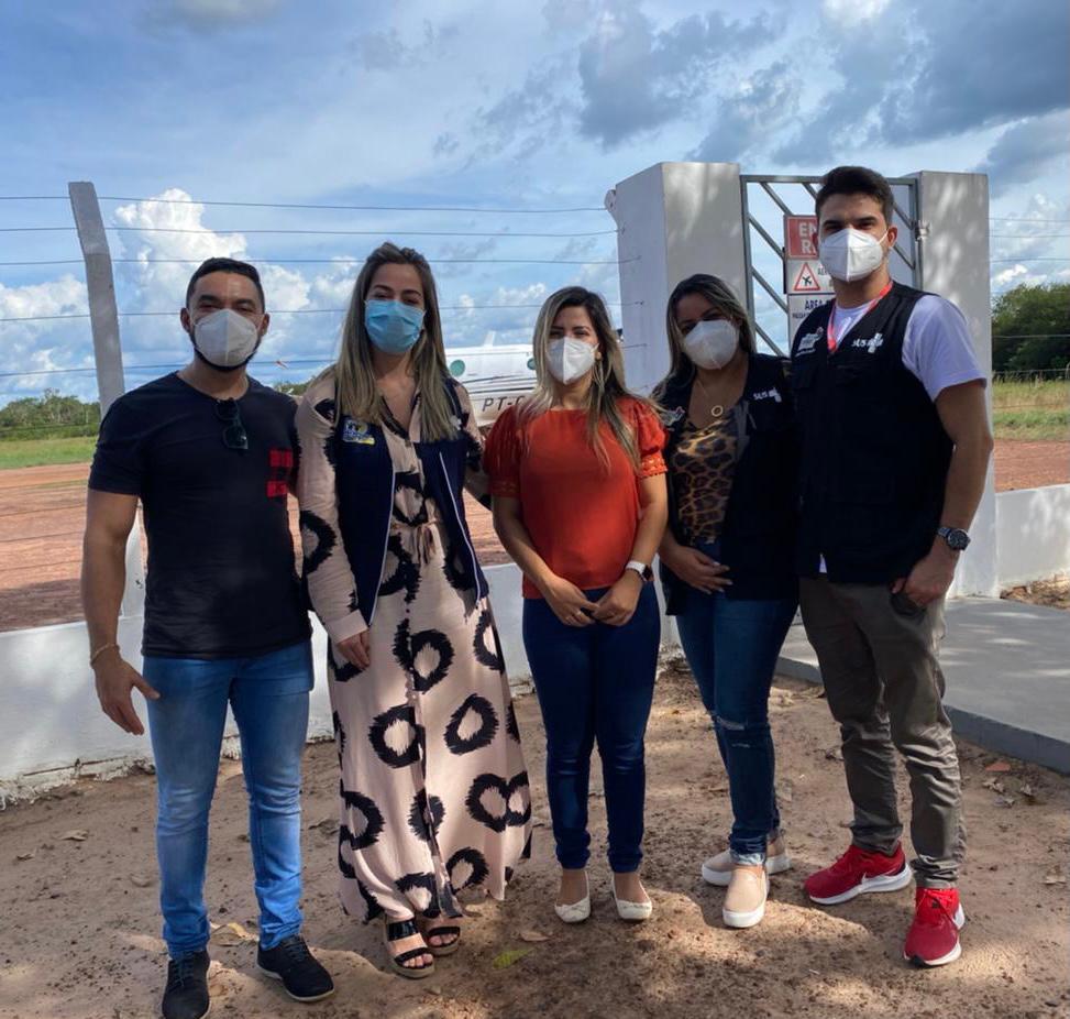 Secretária de Saúde, Vanessa Ferry, recebe em Barra do Corda equipe da secretaria de Estado da Saúde