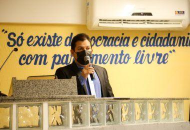 Rigo Teles entra de licença e Marcos Unillar assume interinamente o cargo de prefeito em Barra do Corda