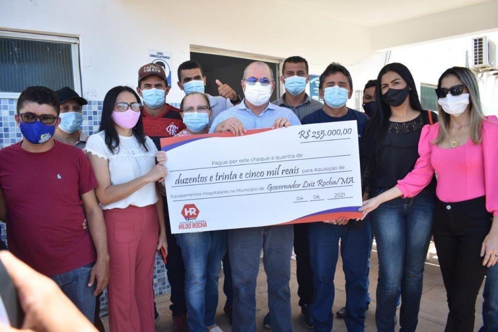 Hildo Rocha disponibiliza emenda para prefeito Zezão, de Governador Luiz Rocha, adquirir equipamentos hospitalares