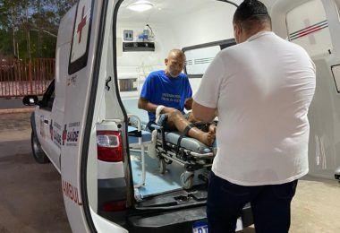 Prefeitura de Barra do Corda encaminha Rogério para clínica de recuperação em São Luís
