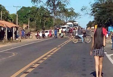Após negociação com PRF e DNIT, indígenas liberam tráfego na Br-226 entre Barra do Corda e Grajaú, no MA
