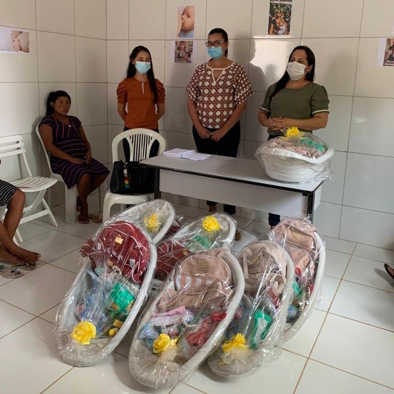 gestao do prefeito arnobio entrega kits natalidade as gestantes em residentes em aldeias em jenipapo dos vieiras 3 - Gestão do prefeito Arnóbio entrega kits natalidade às gestantes em residentes em aldeias em Jenipapo dos Vieiras
