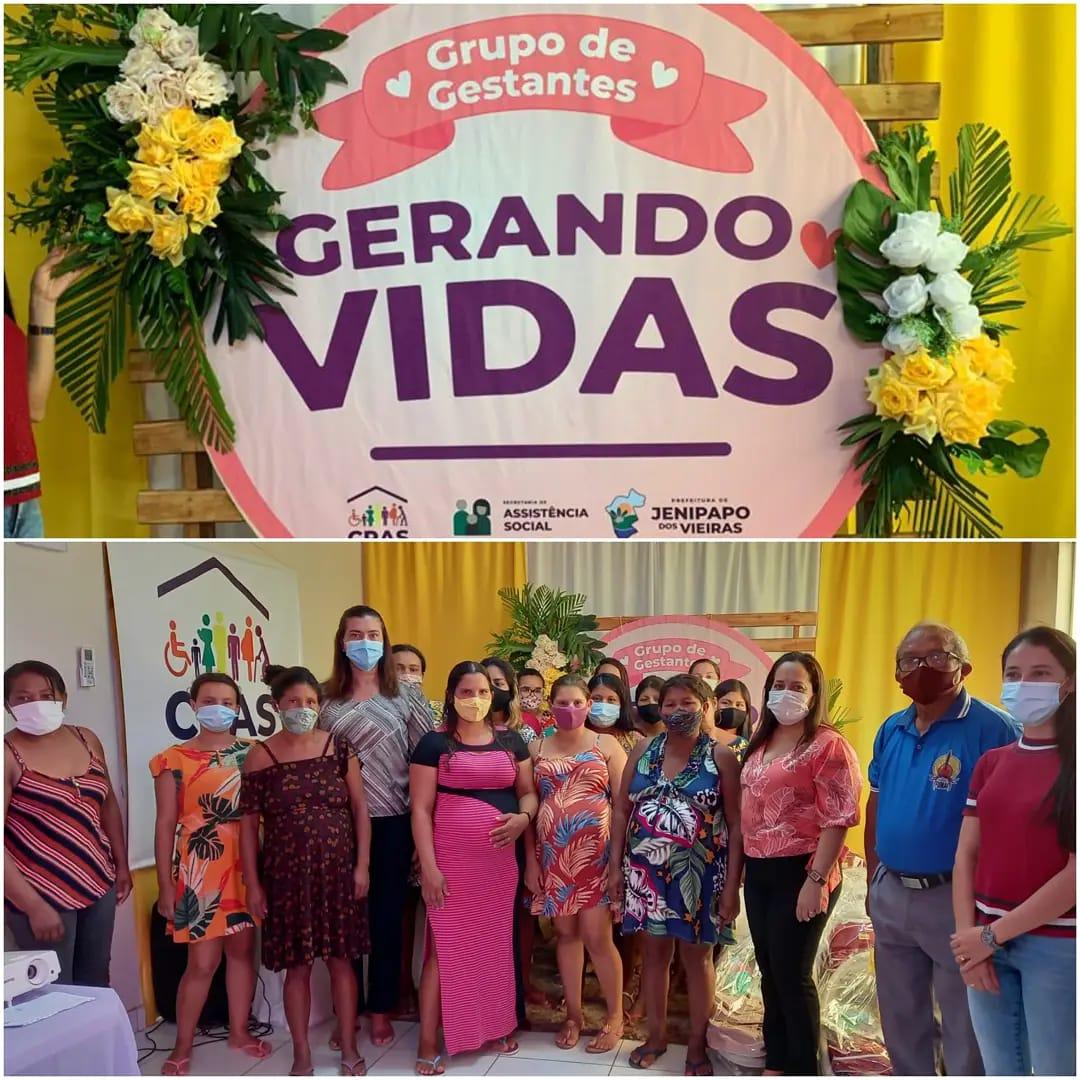 Gestão do prefeito Arnóbio entrega kits natalidade às gestantes em residentes em aldeias em Jenipapo dos Vieiras