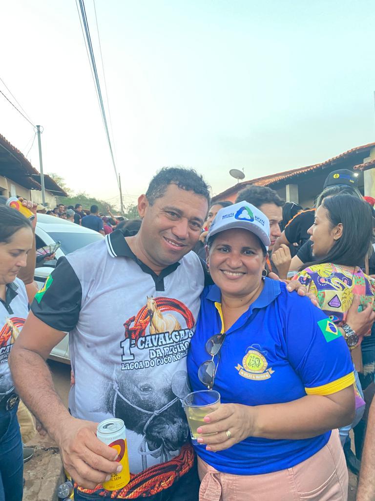 prefeito arnobio e primeira dama elane participam de grande cavalgada em jenipapo dos vieiras 8 - Prefeito Arnóbio e primeira-dama Elane participam de grande cavalgada em Jenipapo dos Vieiras