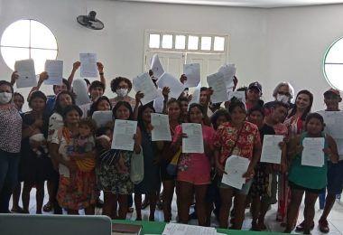 Prefeito de Jenipapo dos Vieiras promove capacitação com indígenas referente ao PROCAF
