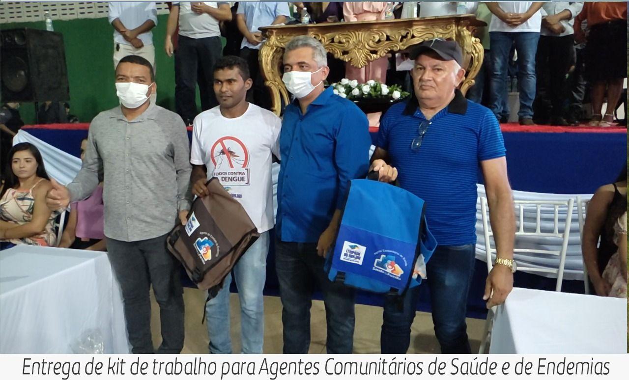 Prefeito Júnior do Posto entrega várias obras importantes em Itaipava do Grajaú