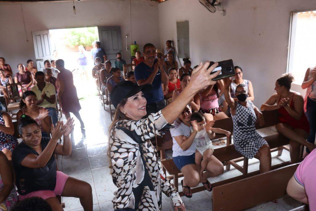 quinta feira abigail cunha visita varios povoados na zona rural de barra do corda 2 1024x683 - QUINTA-FEIRA: Abigail Cunha visita vários povoados na zona rural de Barra do Corda