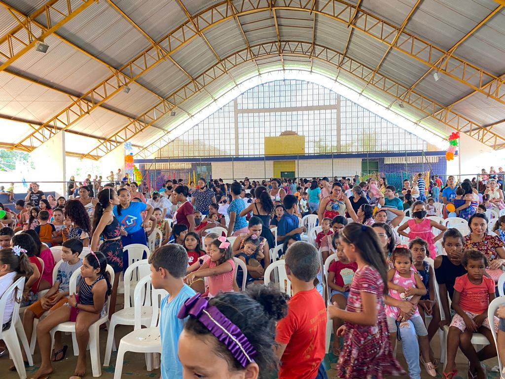 prefeito arnobio promove mega festa em comemoracao ao dia das criancas em jenipapo dos vieiras 10 - Prefeito Arnóbio promove mega festa em comemoração ao dia das crianças em Jenipapo dos Vieiras