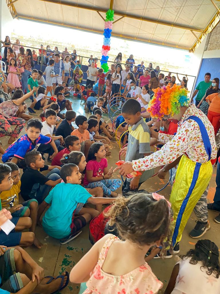 prefeito arnobio promove mega festa em comemoracao ao dia das criancas em jenipapo dos vieiras 11 - Prefeito Arnóbio promove mega festa em comemoração ao dia das crianças em Jenipapo dos Vieiras