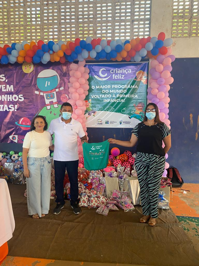 prefeito arnobio promove mega festa em comemoracao ao dia das criancas em jenipapo dos vieiras 12 - Prefeito Arnóbio promove mega festa em comemoração ao dia das crianças em Jenipapo dos Vieiras