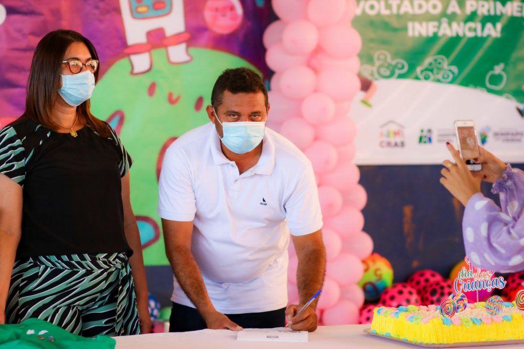 prefeito arnobio promove mega festa em comemoracao ao dia das criancas em jenipapo dos vieiras 7 1024x682 - Prefeito Arnóbio promove mega festa em comemoração ao dia das crianças em Jenipapo dos Vieiras