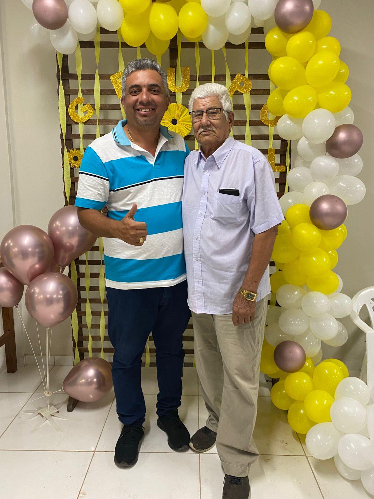 Prefeito Júnior do Posto realiza festa em comemoração ao DIA DO IDOSO em Itaipava do Grajaú