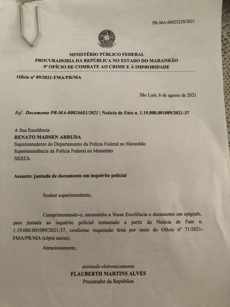 veja aqui o que levou a policia federal intimar o ex prefeito eric costa para prestar esclarecimentos na sede da pf em sao luis 1 768x1024 - Veja AQUI o que levou a Polícia Federal intimar o ex-prefeito Eric Costa para prestar esclarecimentos na sede da PF em São Luís