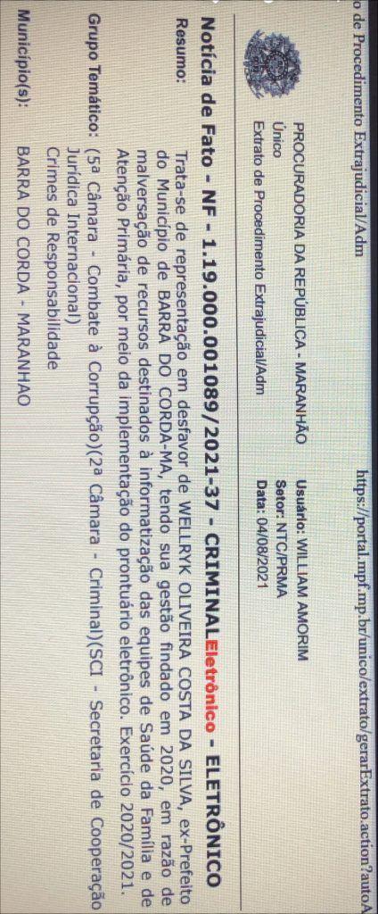 veja aqui o que levou a policia federal intimar o ex prefeito eric costa para prestar esclarecimentos na sede da pf em sao luis 424x1024 - Veja AQUI o que levou a Polícia Federal intimar o ex-prefeito Eric Costa para prestar esclarecimentos na sede da PF em São Luís